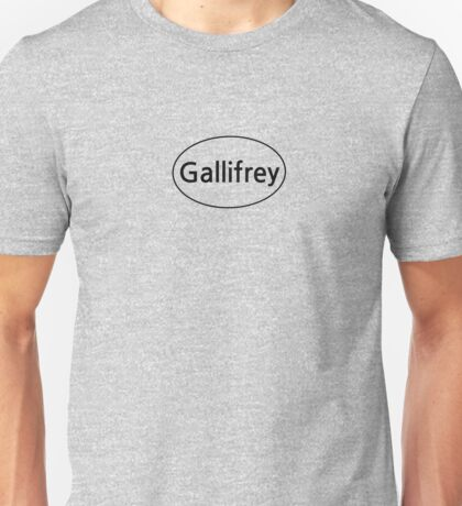 Gallifrey Euro  Unisex T-Shirt