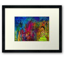 Please Dance with Me Framed Print