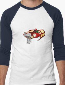 Walking in a Winter Vaderland Men's Baseball ¾ T-Shirt