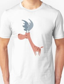 Pink Deer Unisex T-Shirt