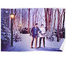Snowing In The Snow Poster