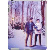 Snowing In The Snow iPad Case/Skin