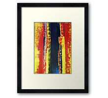 ABSTRACT UNTITLED V Framed Print