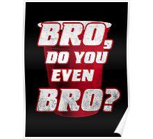 Bro, do you even Bro? Poster