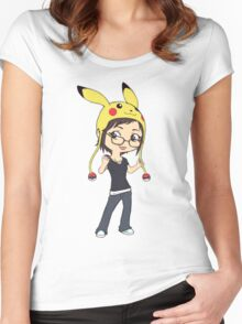 Poke Angie Women's Fitted Scoop T-Shirt
