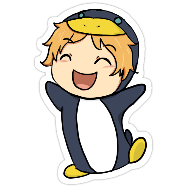 Penguin Nagisa by Keyonta Smith