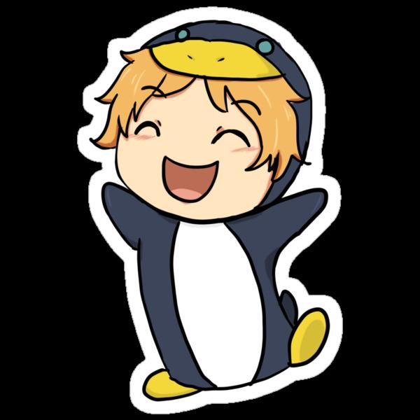 Penguin Nagisa by Keyonta Smith