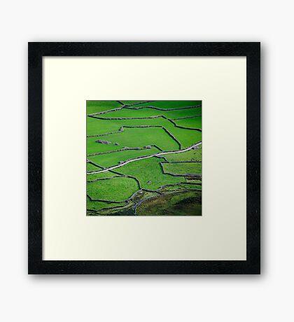 Mosaic, Wasdale Head, Lake District National Park Framed Print