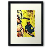 TOK has been a bad boy Framed Print