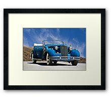 1934 Cadillac Convertible Sedan III Framed Print