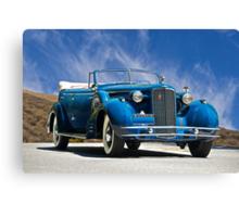 1934 Cadillac Convertible Sedan III Canvas Print