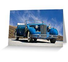 1934 Cadillac Convertible Sedan III Greeting Card