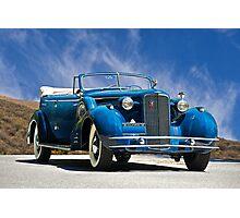 1934 Cadillac Convertible Sedan III Photographic Print