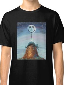 End of Another Dog Day - Whimsical Art by Valentina Miletic Classic T-Shirt