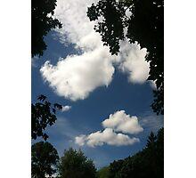 Summer sky Photographic Print