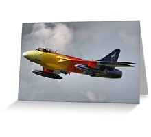 Miss Demeanour - Personal Super Sonic Transport - Dunsfold 2013 Greeting Card