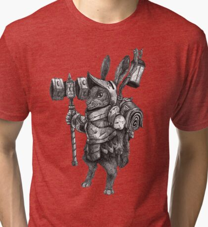 Screwloose Tinkerer Tri-blend T-Shirt
