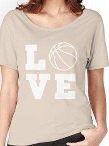 Basketball Love Women's Relaxed Fit T-Shirt