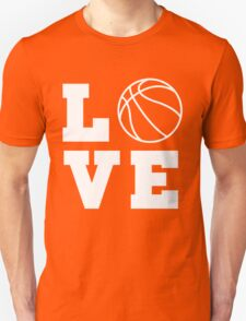 Basketball Love Unisex T-Shirt