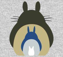 Totoro Trio One Piece - Long Sleeve