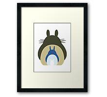 Totoro Trio Framed Print