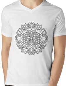 Mandala 76 Mens V-Neck T-Shirt