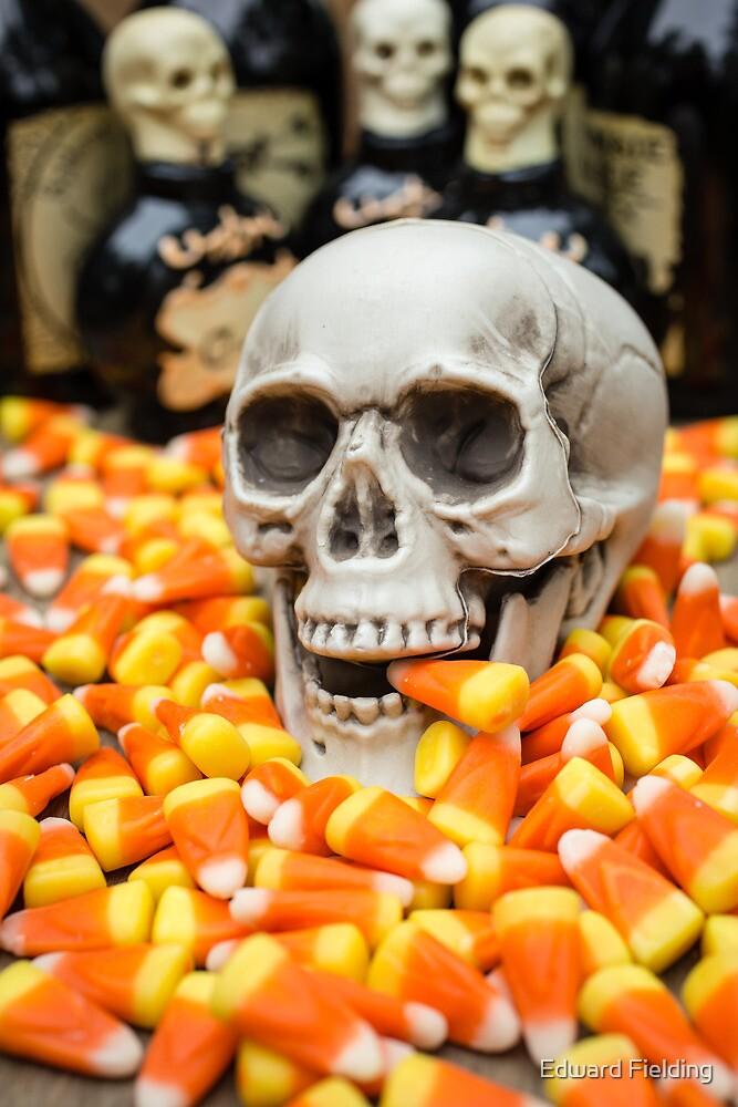 Halloween Candy Corn by Edward Fielding