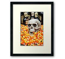 Halloween Candy Corn Framed Print
