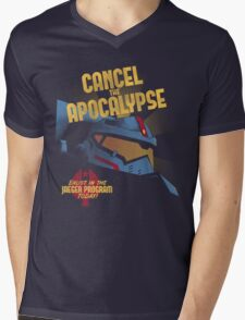 Cancel the Apocalypse Mens V-Neck T-Shirt
