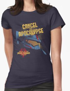Cancel the Apocalypse Womens Fitted T-Shirt