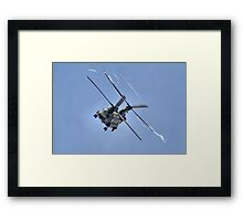 Vortex - The Chinook Display - Dunsfold 2013 Framed Print