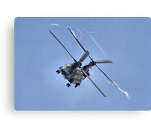 Vortex - The Chinook Display - Dunsfold 2013 Canvas Print