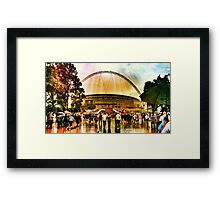 Wembley Way London England Framed Print
