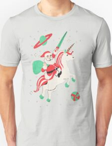 SANTA UGLY CHRISTMAS -SANTA UNICORN- SANTA UNICORN UGLY SWEATER T-Shirt