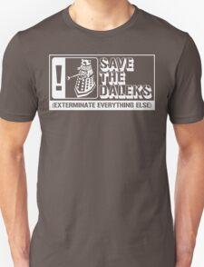 Save the Daleks!  Unisex T-Shirt