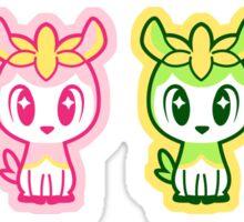 Chibi Deerlings Sticker