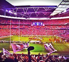 Wembley Stadium London England by EyeGrabber