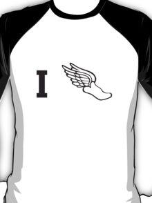 I run flying shoe T-Shirt