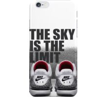 THE SKY IS THE LIMIT - MJ 3 iPhone Case/Skin