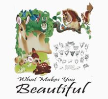 Bambi - What Makes You Beautiful T-shirt by ColumVersalStud