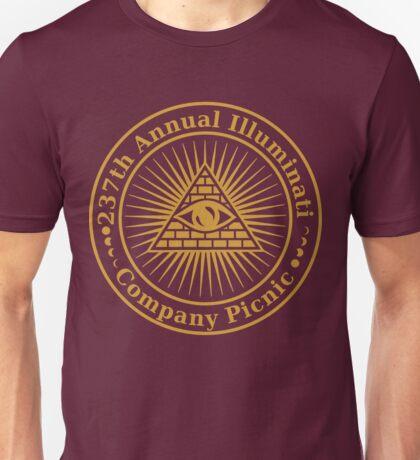 Illuminati Company Picnic Unisex T-Shirt