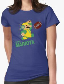 Super Mariota Womens Fitted T-Shirt