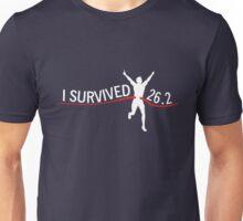 I survived 26.2 Unisex T-Shirt