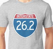 Interstate 26.2 Unisex T-Shirt