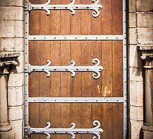 Medieval Door by FelipeLodi