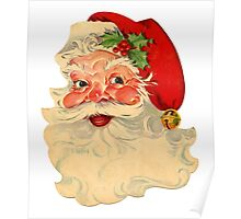 Vintage Santa Claus Poster