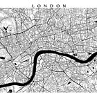 London Map by CartoCreative