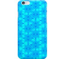 Abstract Plume - light blue iPhone Case/Skin