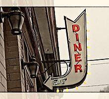Diner sign by Andy Curtis