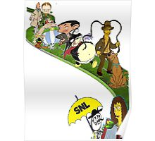 Cartoon Composition Poster